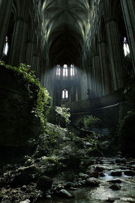 Великолепные места, заброшенные людьми (40 фото)