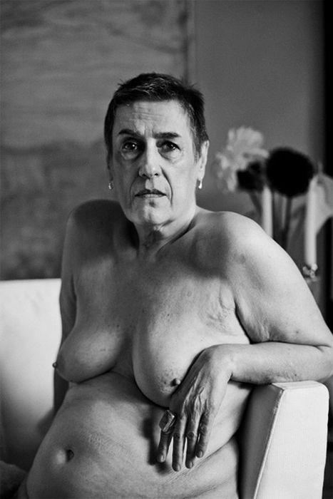 Фото Обнаженные Пожилые Натурщицы