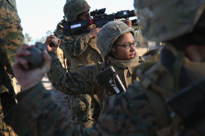 ABD'de Kadın Denizcileri (30 Fotograf)