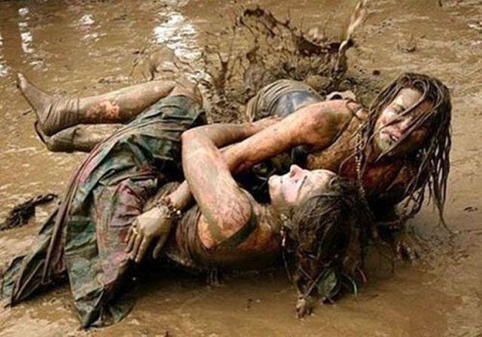 Девушки-грязнули (30 фото)