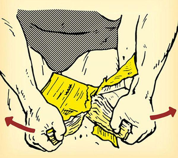 Небольшой секрет мощной физической силы (5 картинок)