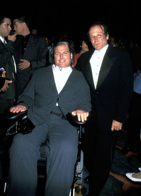 Gerçek Dostluk - Robin Williams ve Christopher Reeve (13 fotograf)