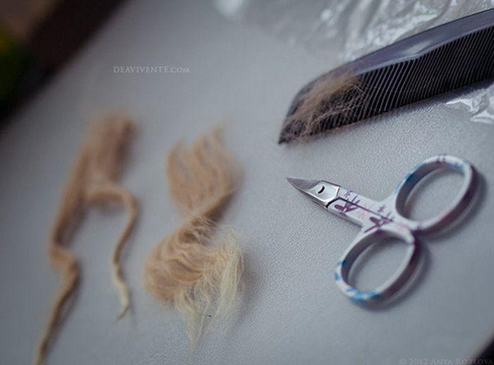 Eklemleri Olan Bebek Yapımı -Anna Kozlova (44 Fotograf)
