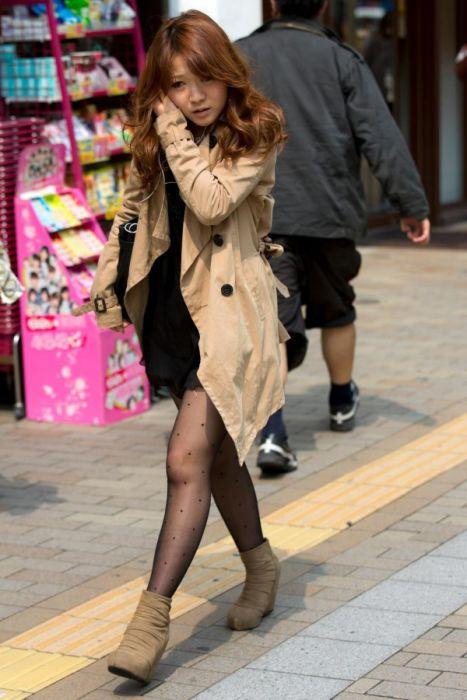 Подборка японских девушек на улицах (51 фото)