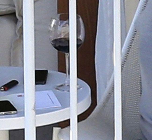 Дженнифер Лоуренс отрывается с травкой и вином (8 фото)