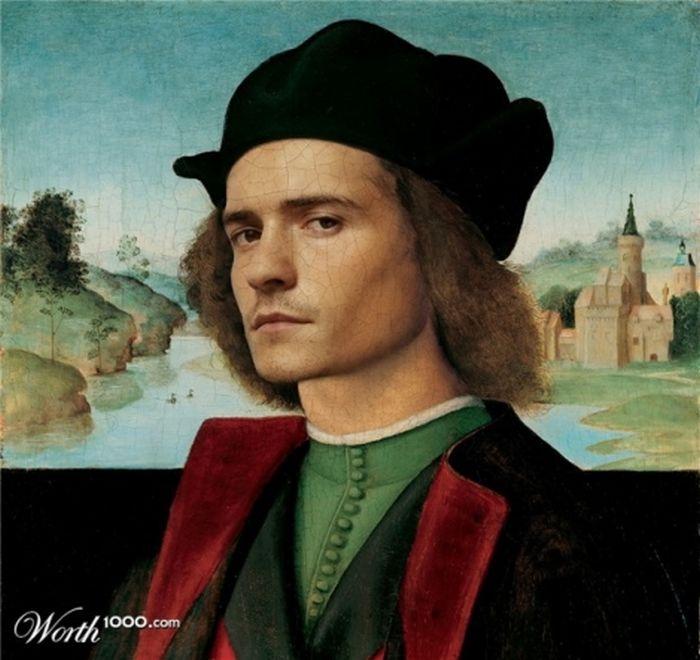 Знаменитости и современный Ренесанс (21 фото)