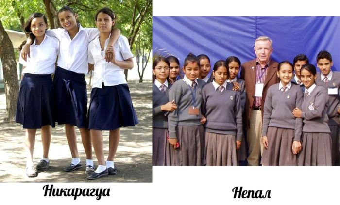 Школьная форма разных народов мира (16 фото)