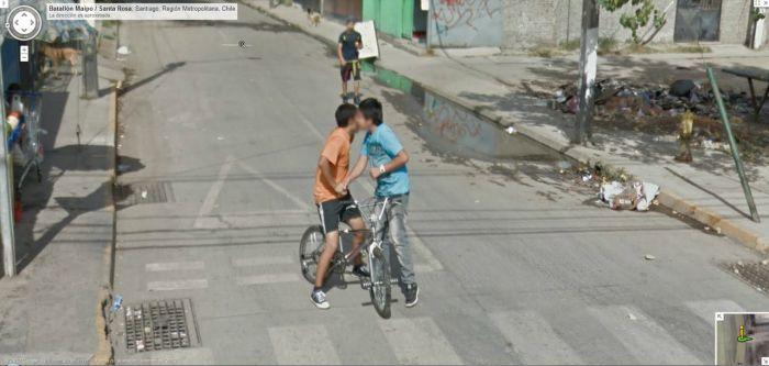 Подборка приколов на Google Street View (50 фото)