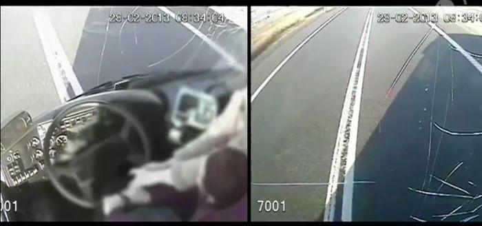 Героический поступок двух женщин (2 фото + видео)