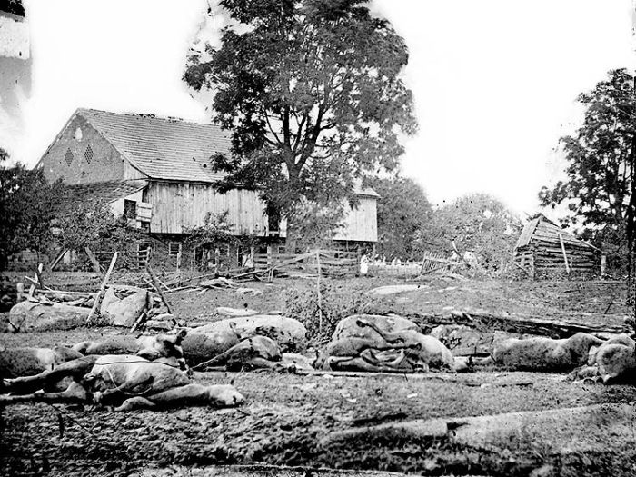 Гражданская война в США в фотографиях (121 фото)