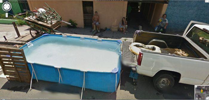 Подборка приколов на Google Street View. Часть 2 (51 фото)