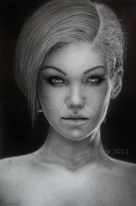 Невероятная техника рисования карандашом (55 фото)