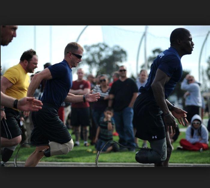 Инвалиды морской пехоты на соревнованиях в Кэмп-Пендлтон (51 фото)