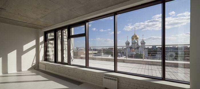 Глазами владельцев московских пентхаусов (24 фото)