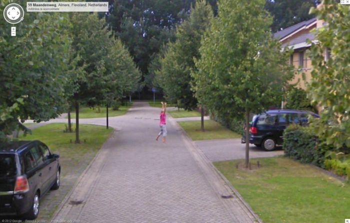 Подборка приколов на Google Street View. Часть 3 (37 фото)