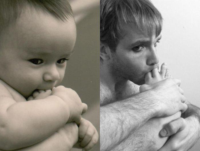 Превращение в деток (25 фото)