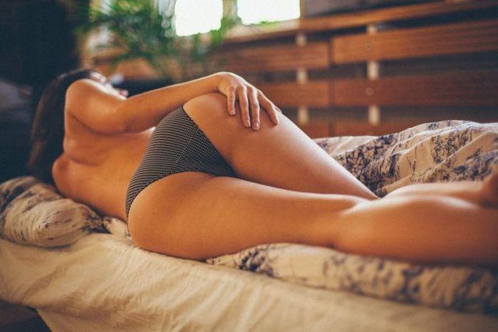 Коллекция девушек с сексапильными попками (58 фото)