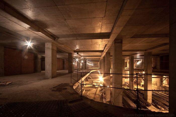 Подземное царство Москва-Сити (23 фото)