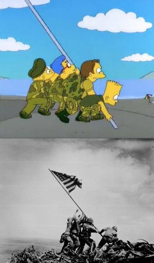 Ünlü Çizgi Film Simpsonlar'ın İlham Kaynakları ( 12 Fotograf )