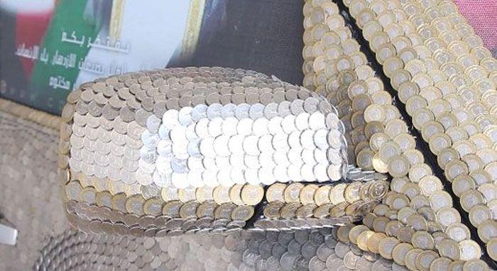 Арабский тюнинг с помощью монет (31 фото)