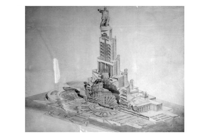 Нереализованные проекты советской Москвы (15 фото)