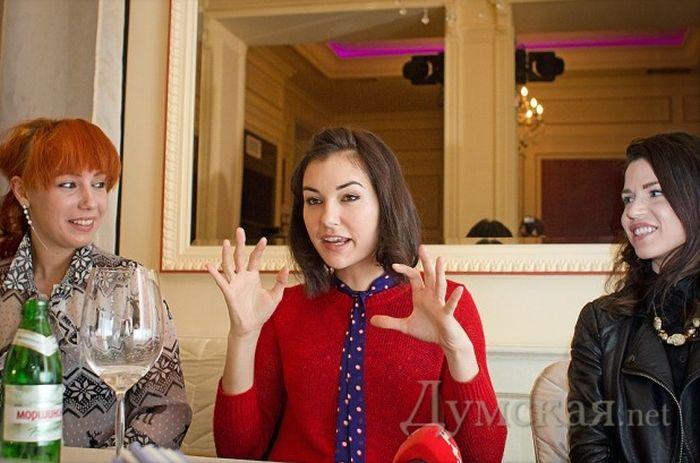 Саша Грей посетила Одессу (5 фото)