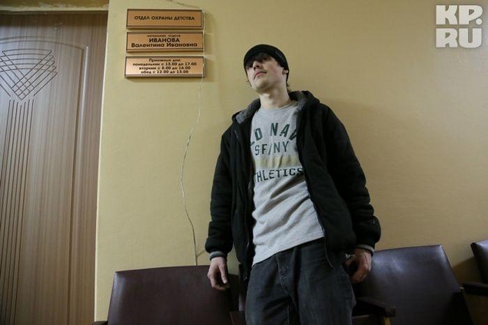Мальчишка сбежал из Америки в Чебоксары (4 фото + текст)