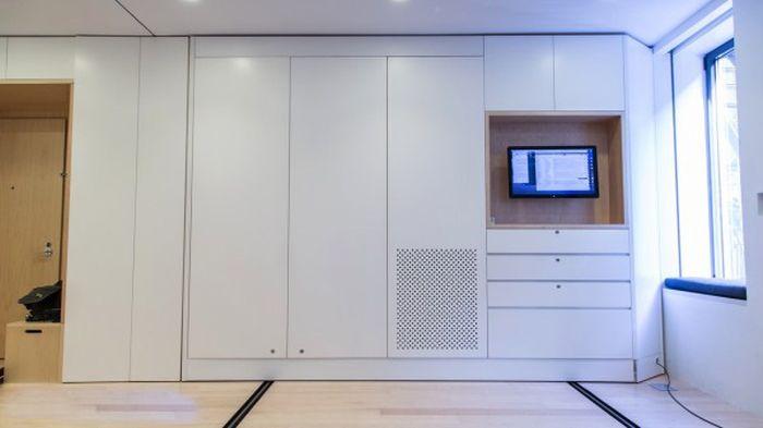 Удивительная квартира-трансформер площадью 39 м² (17 фото + видео)