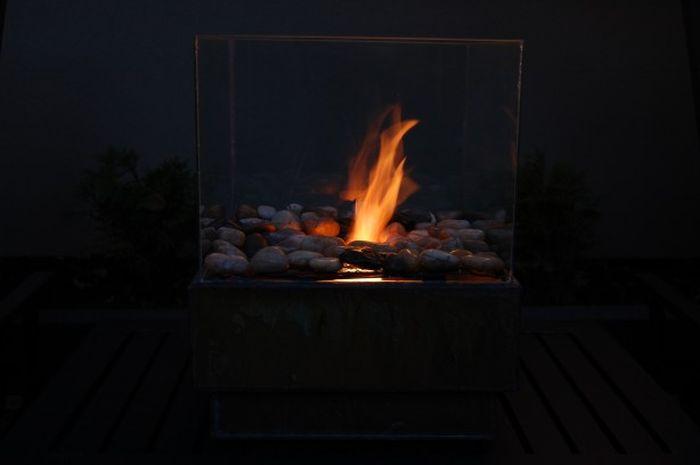 Самодельный камин своими руками (27 фото)