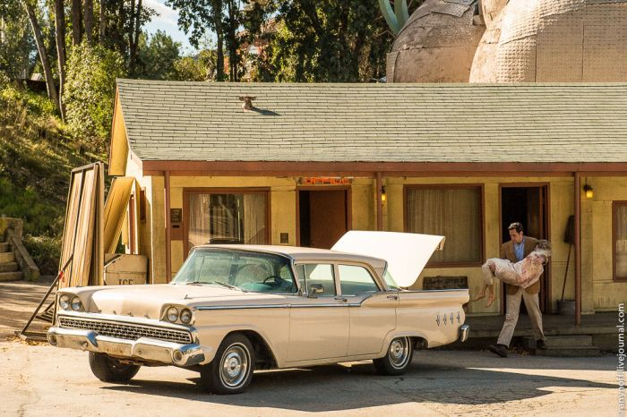 Парк Universal Studios Hollywood, легендарные места киносъемок (48 фото)