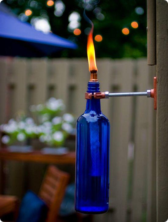 Светильник для сада своими руками (6 фото)