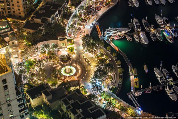 Удивительные виды с крыш Дубая (60 фото)