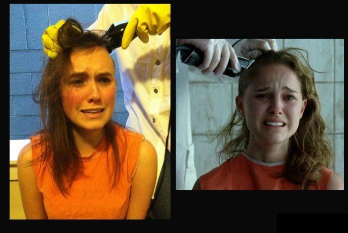 Креативный способ сбрить волосы (7 фото)