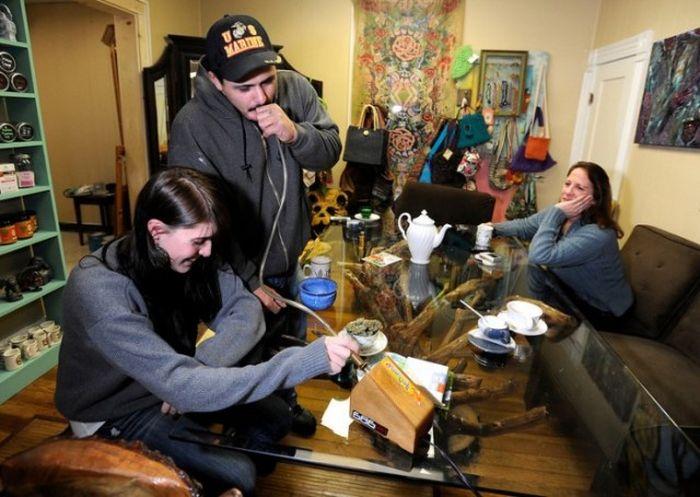 Легальные клубы марихуаны в Вашингтоне и Колорадо (13 фото)
