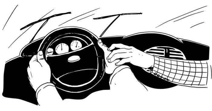 Как всё устроено: Инструктор в автошколе (3 картинки + текст)