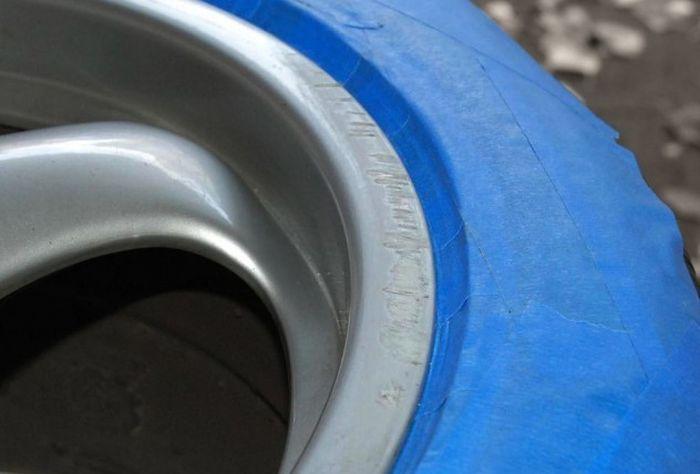 Восстанавливаем сколы на литых дисках своими руками (9 фото)