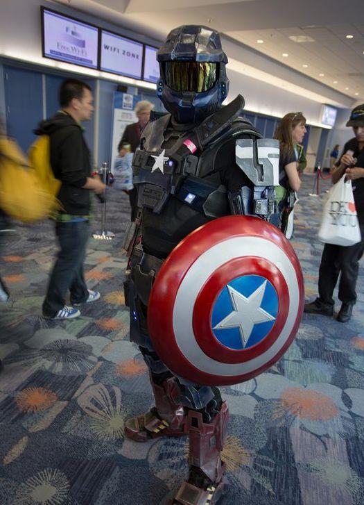 Классный косплей с фестиваля WonderCon 2013 (70 фото)