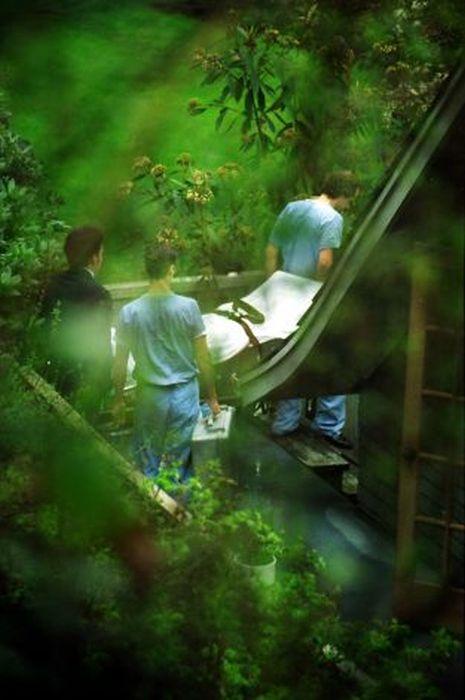 Фотографии, сделанные на месте убийства Курта Кобейна (24 фото)