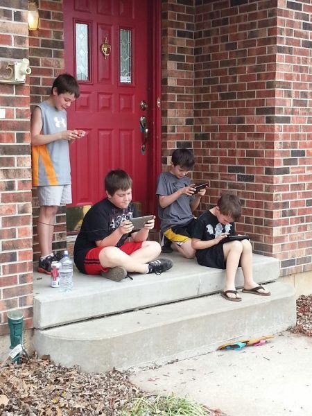 Sokakta Çocuk Oyunu