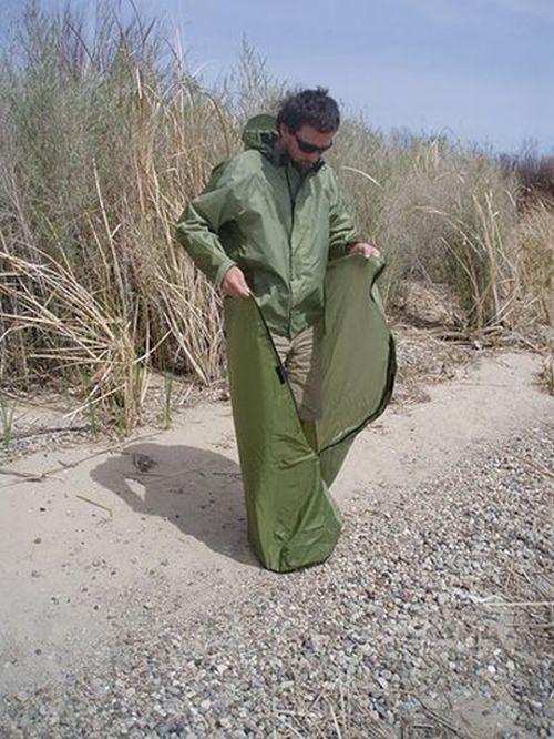 Креативная куртка для любителей отдыха на природе (6 фото + видео)