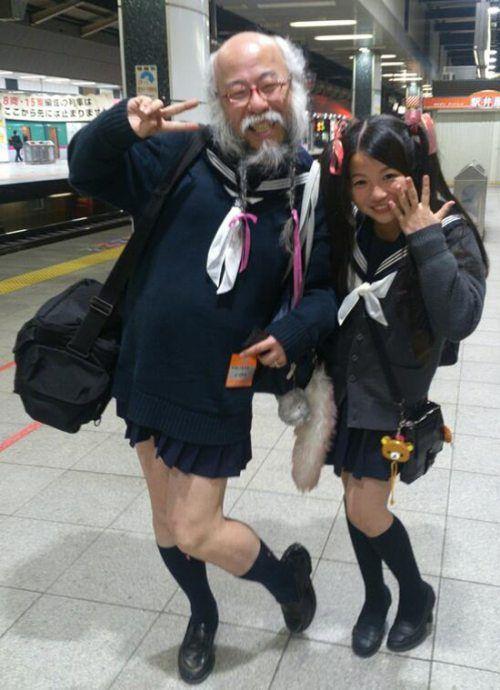 Необъяснимые фотографии странных людей (41 фото)
