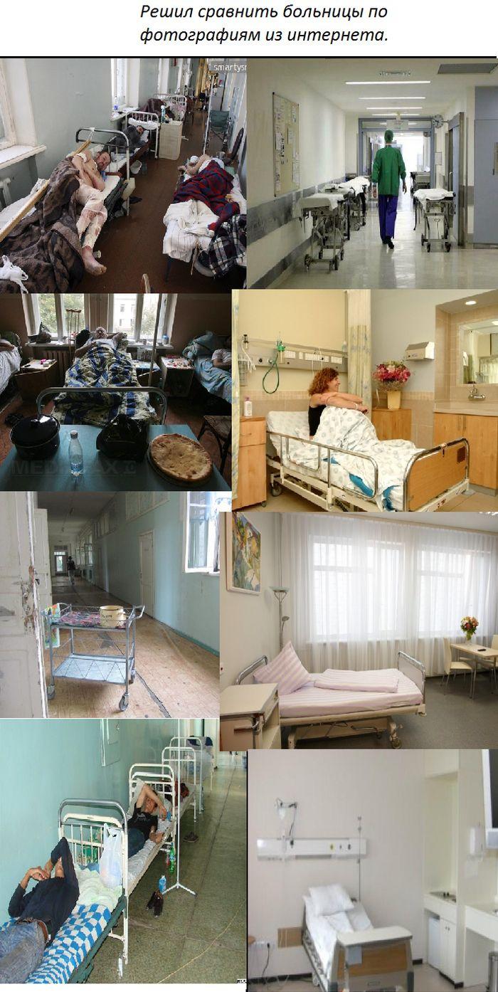 Сравнительное описание медицины РФ и США (5 фото)