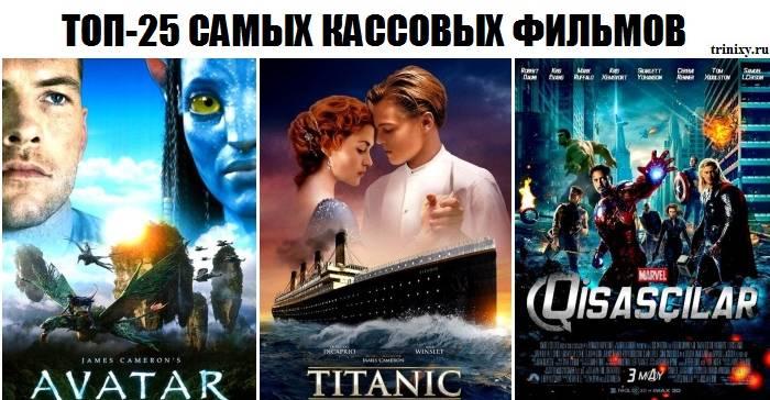 ТОП-25 самых кассовых фильмов (25 фото)
