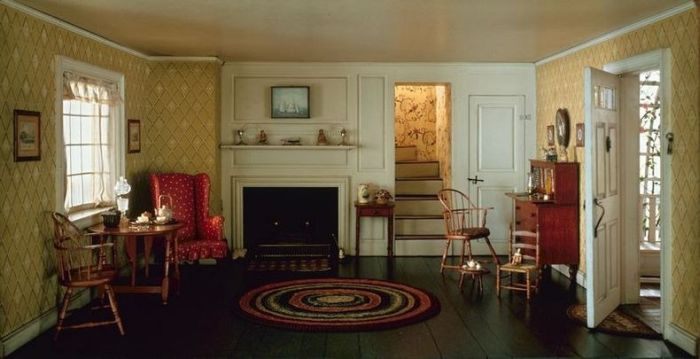 """Необычный """"секрет"""" комнат (25 фото)"""
