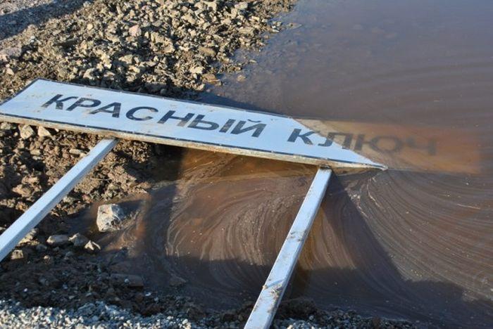Новая дорога в Хакасии или куда делись деньги (25 фото + видео)