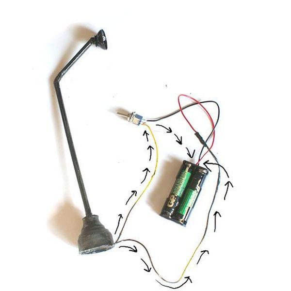 Миниатюрный уличный фонарь: инструкция по созданию (33 фото)