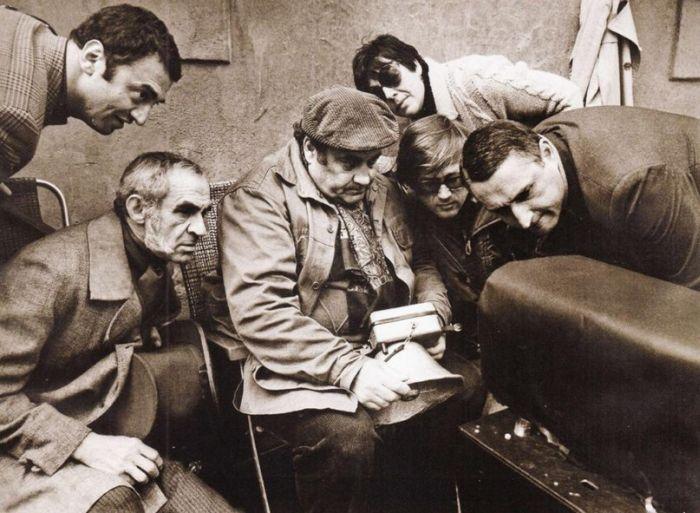 Редкие кадры со съемок культовых советских фильмов (20 фото)