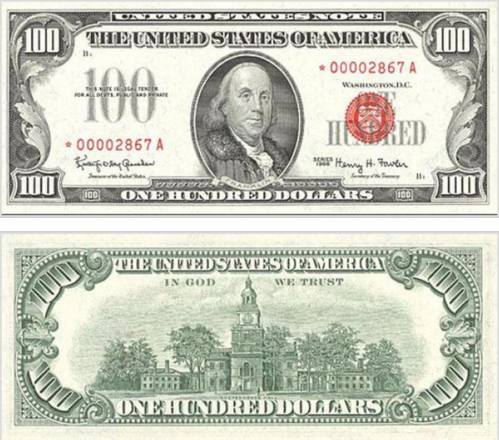 Как с годами изменялась купюра в 100 долларов (15 фото)