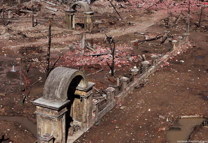 Сталинград времен войны - очень реалистичные декорации (20 фото)