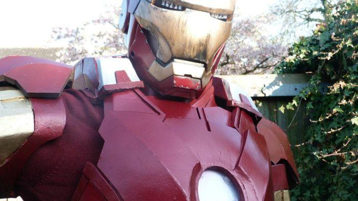 Крутой косплей костюм железного человека своими руками (31 фото)